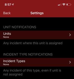UnitNotificationsiPhoneX