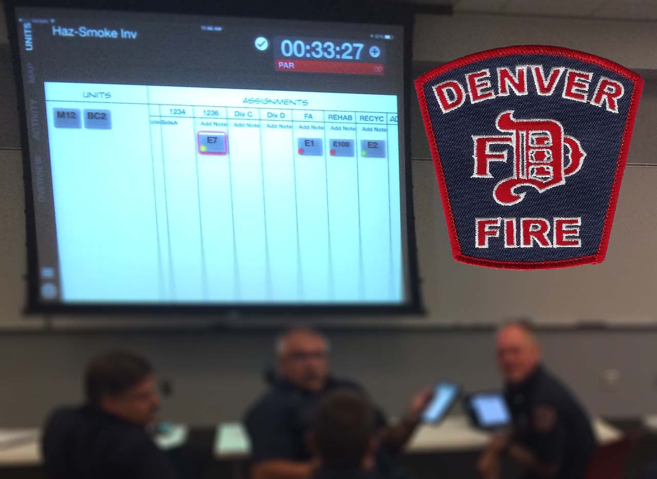 Tablet Command Supports Denver Fire Department in Promotional Testing